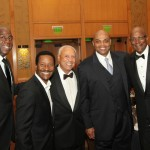 MAGIC, YOURS TRULY, LENNY WILKENS, CHARLES BARKLEY 7 CLYDE DREXLER